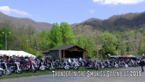 Live music at the Maggie Valley Bike Rally
