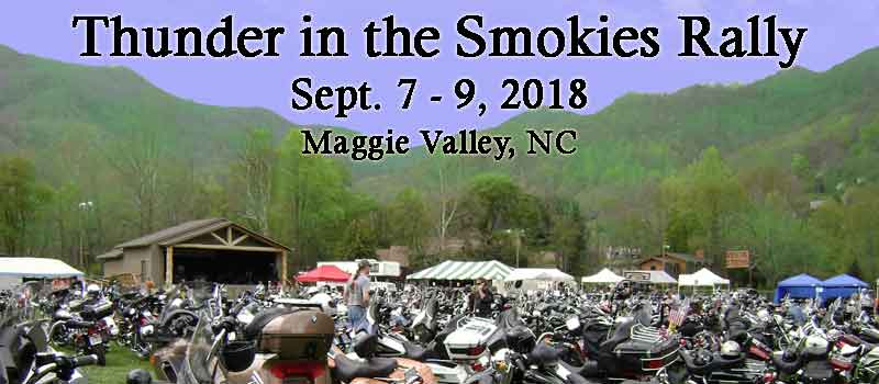 2019 Thunder in the Smokies Fall Rally