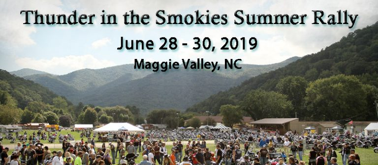 2019 Thunder in the Smokies Summer Rally