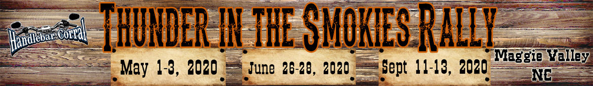 Thunder in the Smokies Rally Logo